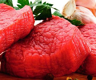 Es importante tener en cuenta las grasas saturadas de la carne ya que suben el nivel de colesterol