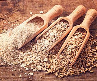 Al no someterse a un proceso de refinado los cereales integrales conservan la mayor parte de su fibra