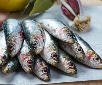 Los tres pescados con mas calcio son los jureles, las sardinas, el bacalao