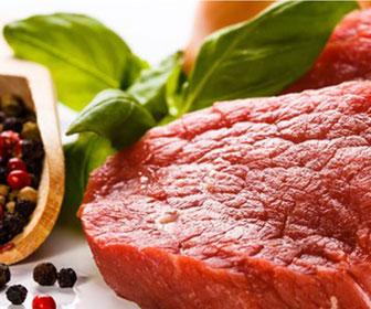 La ternera es una de las carnes rojas con mas hierro