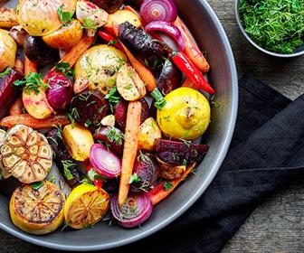 Los vegetales de hoja verde contienen mucho magnesio